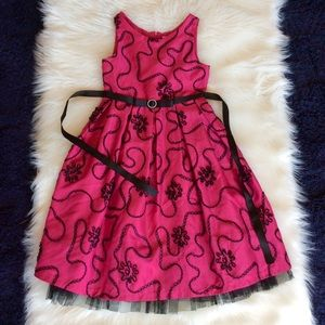 Dress Pageant Party Occasion Pink Girls size 12